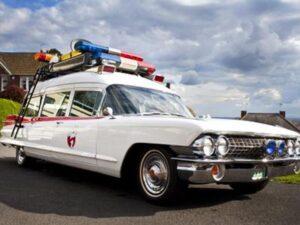 Ground Ambulance Wedding Car