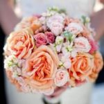 Coral Spring Wedding Flowers