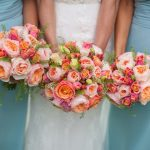 Coral Flowers For Wedding