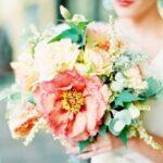 Coral Summer Wedding Flowers