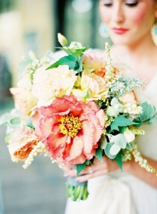 Coral Summer Wedding Flowers