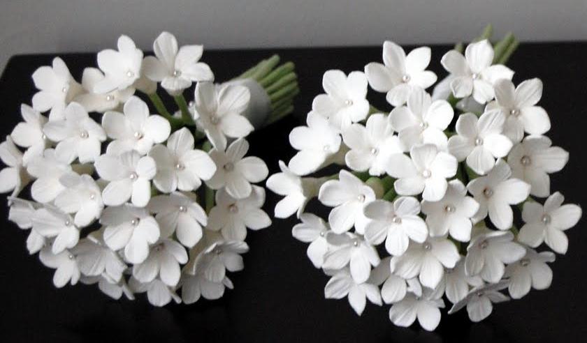 White stephanotis bouquet