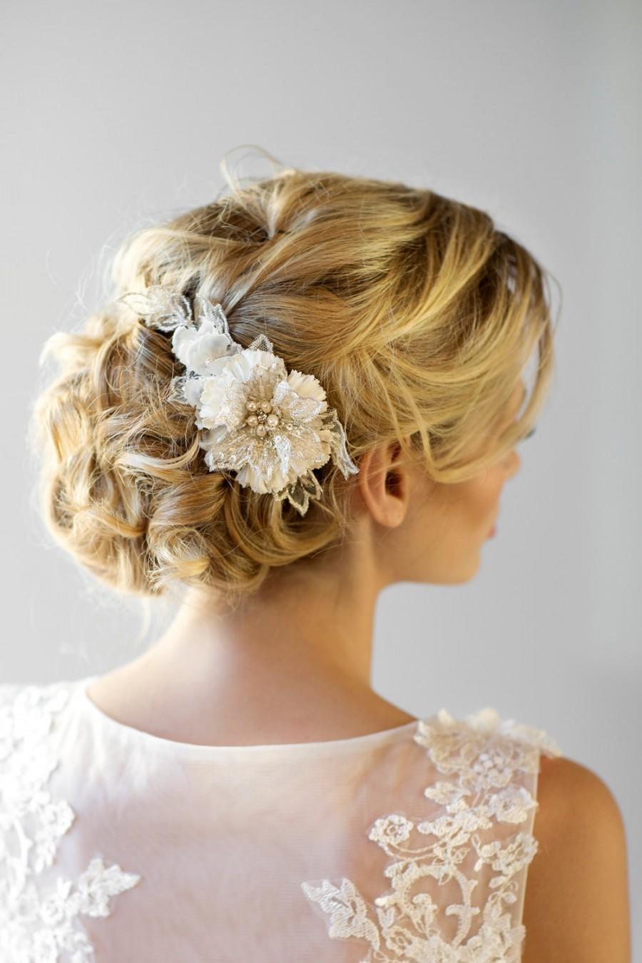 Wedding Hair Flower Ideas