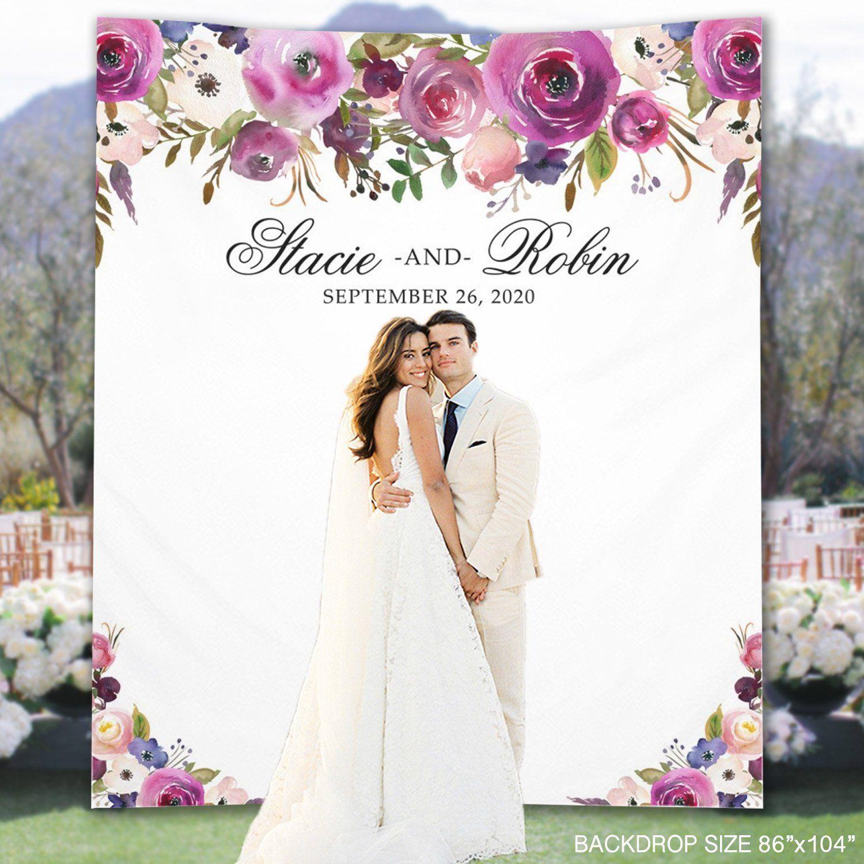 Design Your Own Wedding Photo Backdrops   Creative Wedding