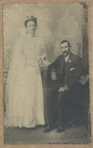 Paddy and Mary Ryan, early 1900s.