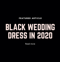 Black Wedding Dresses 2020