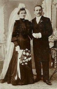 History of the Black Wedding Dress