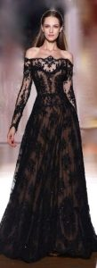 Black Wedding Dress Trend 2020