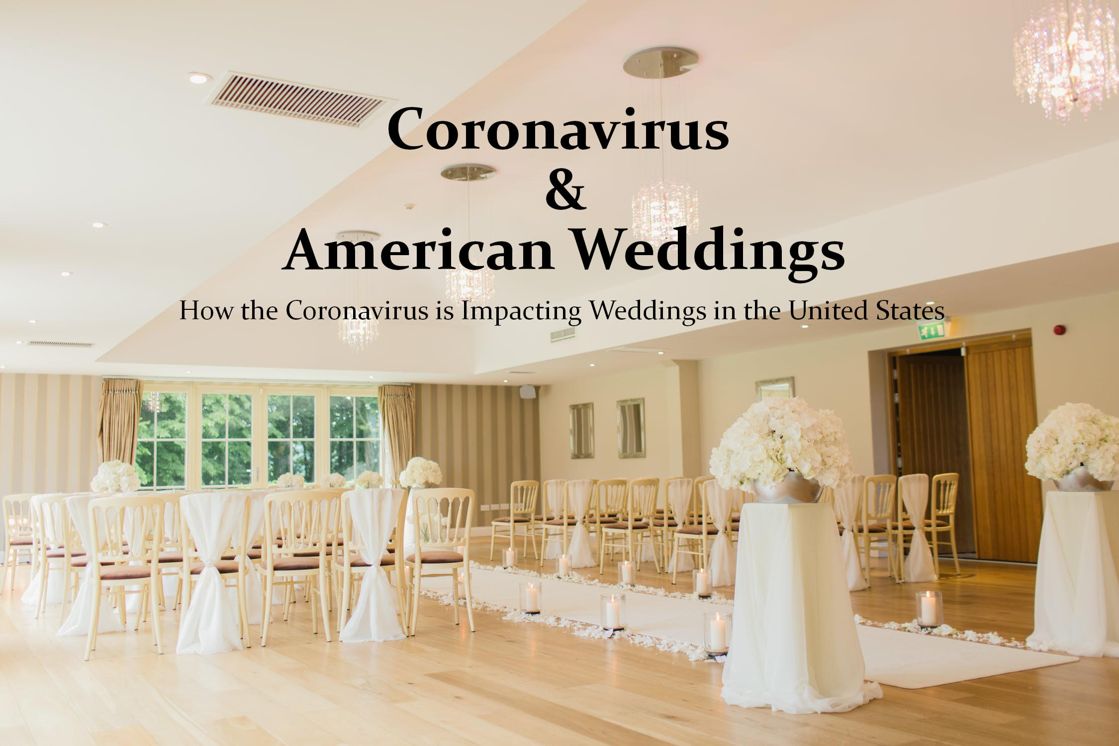 Coronavirus Declares War To The American Weddings