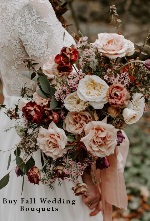 Buy Fall Wedding Bouquets