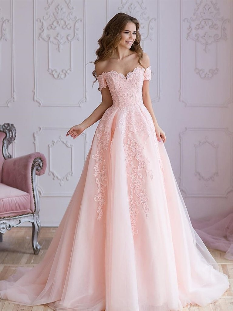 Pink Wedding Dresses Are For The Ultra Feminine Bride!