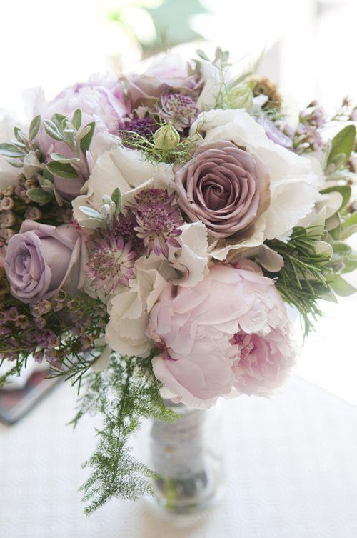 Pink Mauve Wedding Bouquet