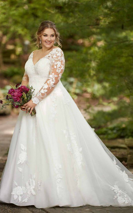 Plus Size Wedding Gowns For The Voluptuous Figure