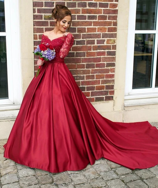 Red Wedding Dresses Styles