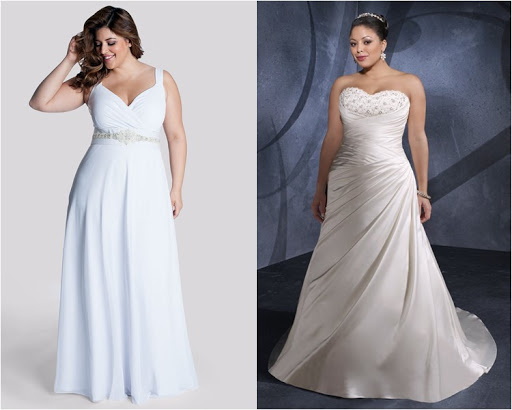 Style of the Plus Size Wedding Dress