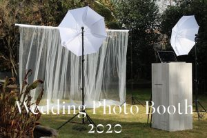 Wedding photo booth 2020