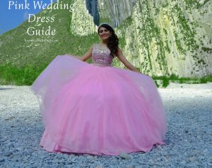 pink wedding dress guide
