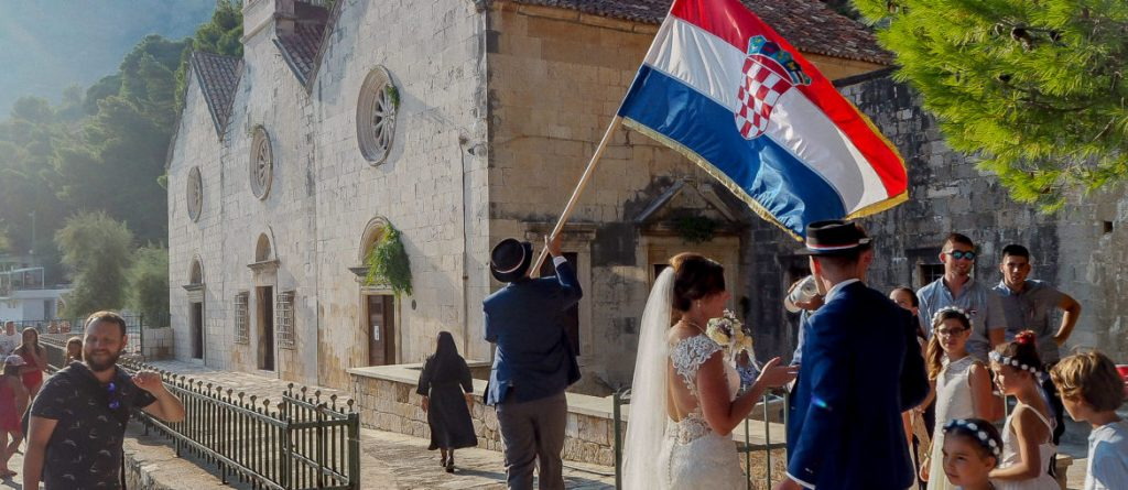 Traditional Croatian wedding