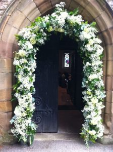 Entrance Arch flower decoration