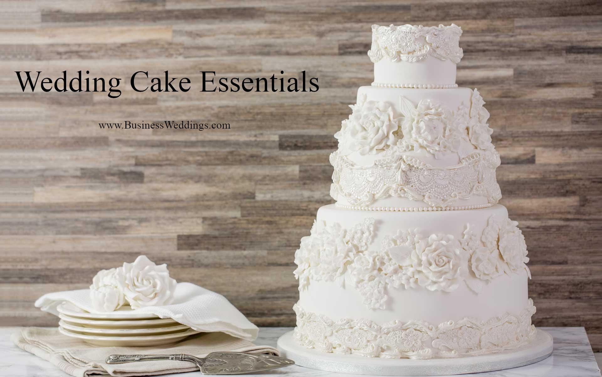 Simple Wedding Cakes Wedding Cake Essentials