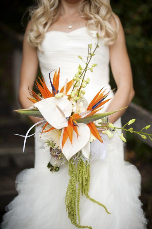 bird of paradise wedding bouquet 3