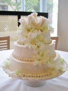 Chiffon Wedding Cakes