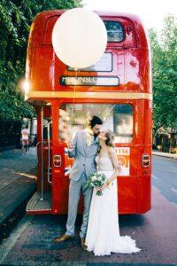 City Bus Wedding