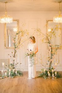 Fine Art Wedding Backdrop