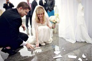Italian Wedding Broken Glass