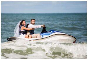 Jet Ski Wedding